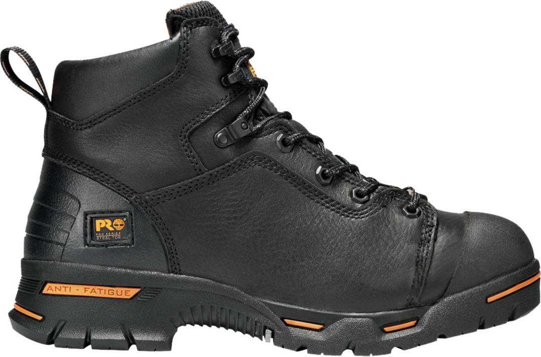 82091f62c Timberland PRO Men's Endurance PR 6'' Waterproof Steel Toe Work Boots