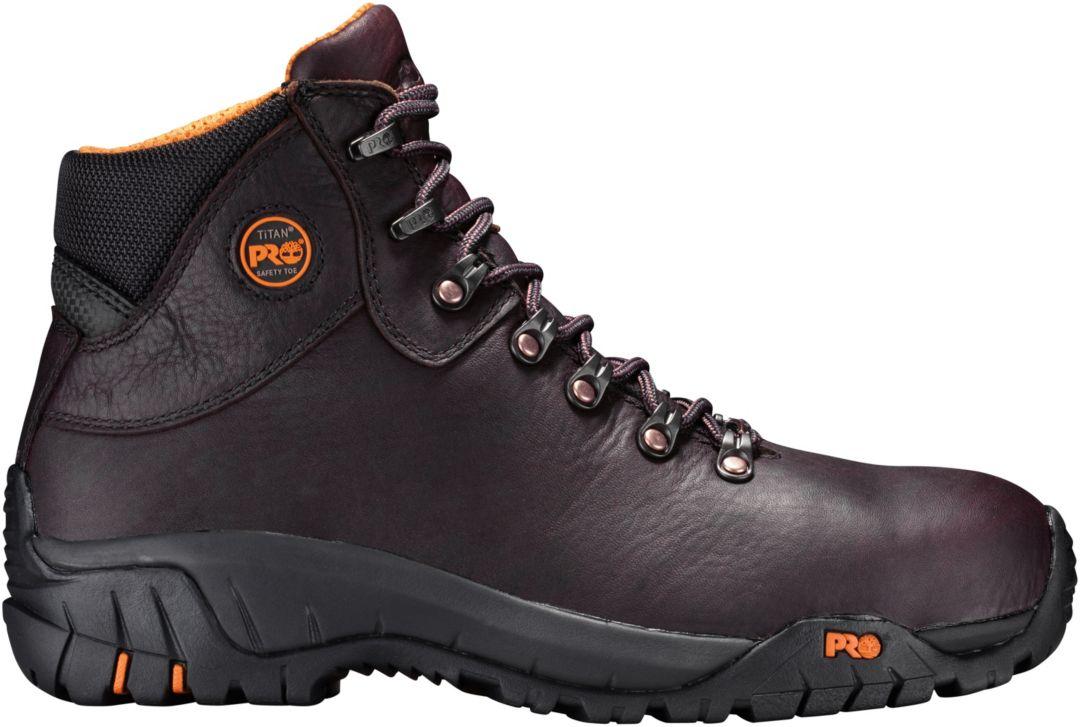 44b29c46005 Timberland PRO Men's TiTan Trekker Waterproof Alloy Toe Work Boots