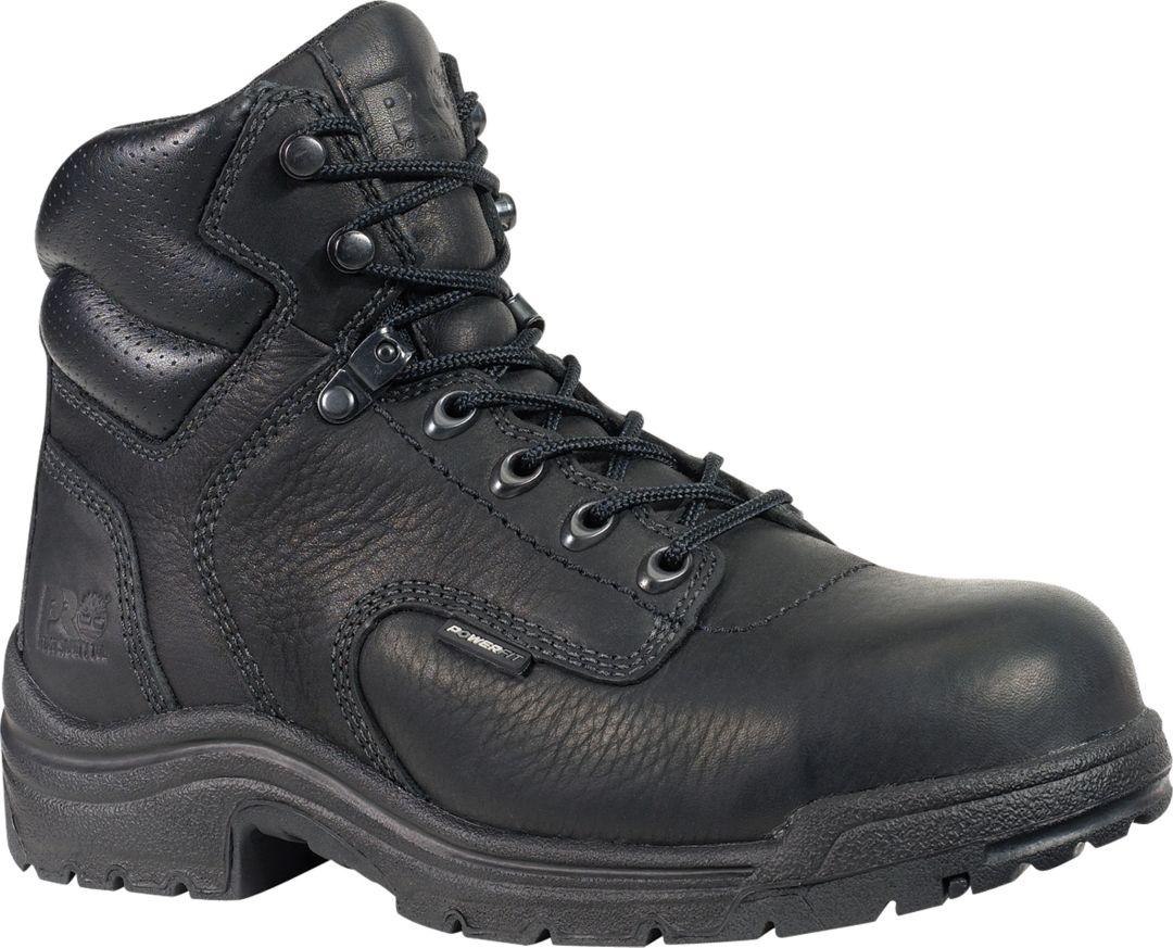 "dcfc33ff62a Timberland PRO Women's 6"" TiTAN Alloy Toe Work Boots"