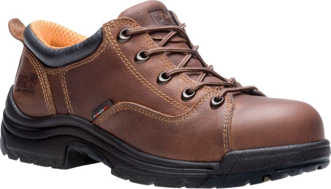 580fea292b2 Timberland PRO Women's TiTAN Alloy Toe Oxford Work Boots