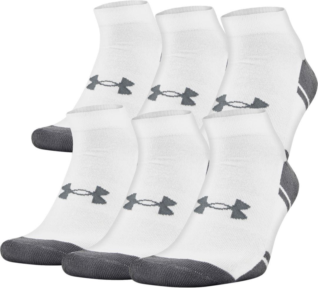 362fa586 Under Armour Resistor Low Cut Athletic Socks 6 Pack