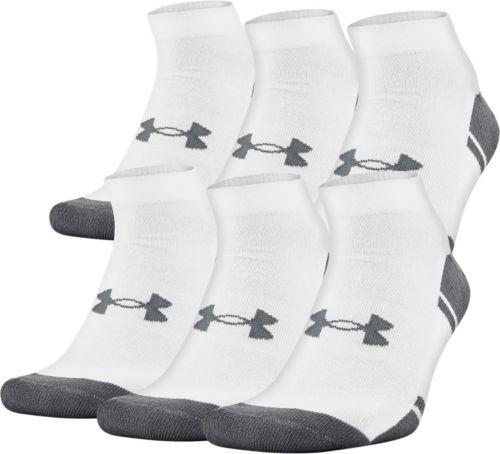 d48d8d1766 Under Armour Resistor Low Cut Athletic Socks 6 Pack   DICK'S ...