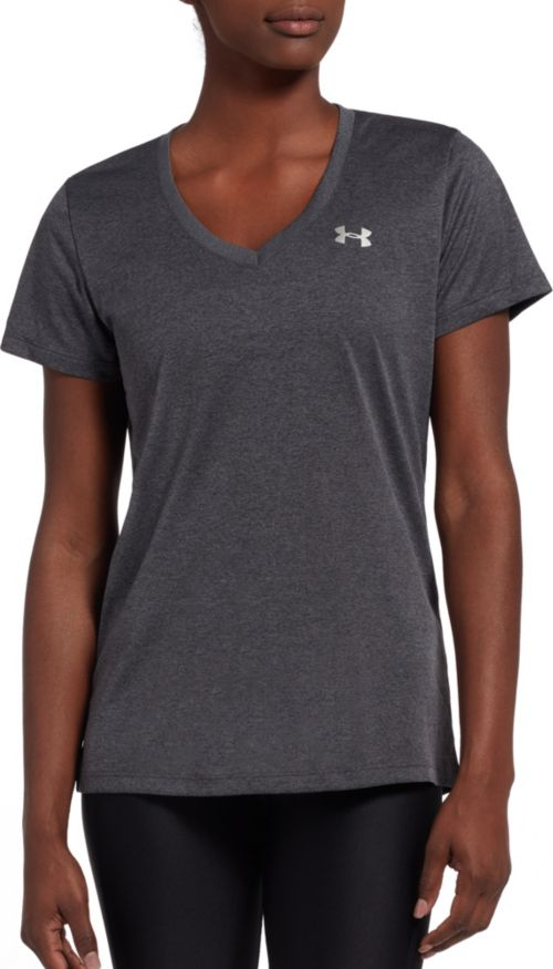 327d9b1ef4691 Under Armour Women s Tech V-Neck Short Sleeve Shirt