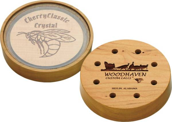 WoodHaven Custom Calls Cherry Classic Crystal Pot Turkey Call product image