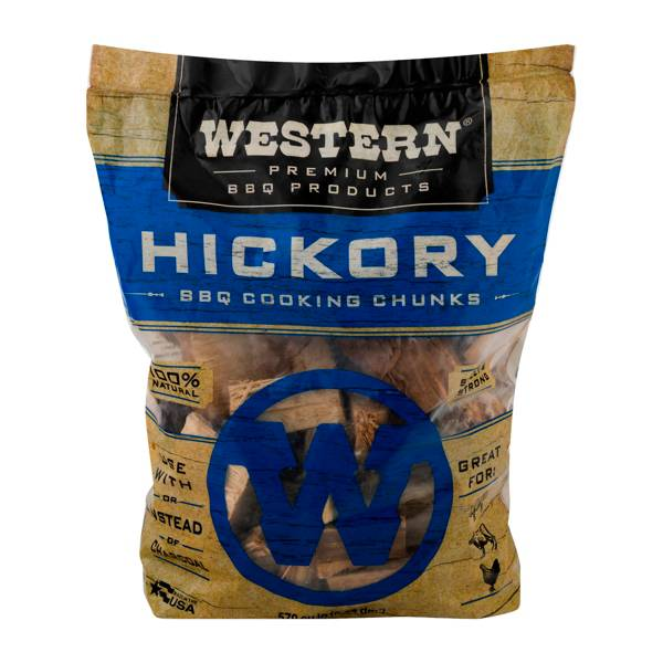 WESTERN BBQ Hickory Cooking Chunks product image