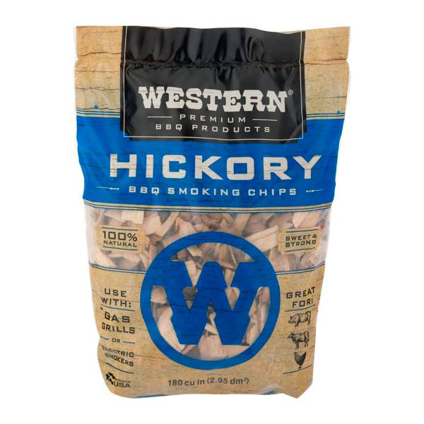 WESTERN BBQ Hickory Smoking Chips product image