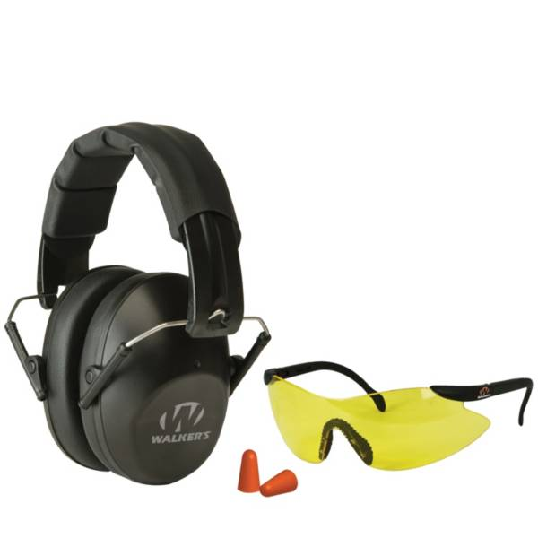 Walker's Game Ear Pro Shooting Earmuffs and Glasses Safety Combo product image