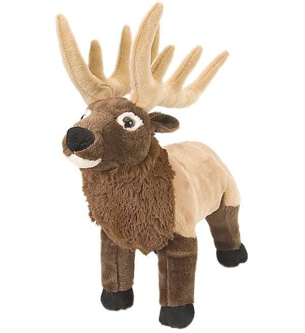 Wild Republic Stuffed Cuddlekin Standing Moose product image