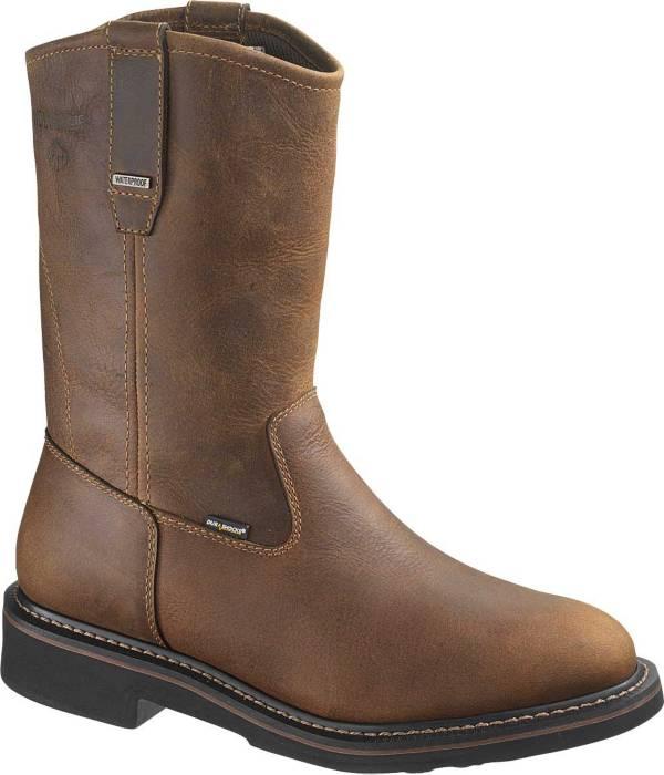 """Wolverine Men's Brek 10"""" Wellington Waterproof DuraShocks Steel Toe Work Boots product image"""