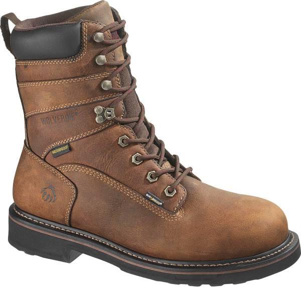 """Wolverine Men's Brek 8"""" Waterproof DuraShocks Steel Toe Work Boots product image"""