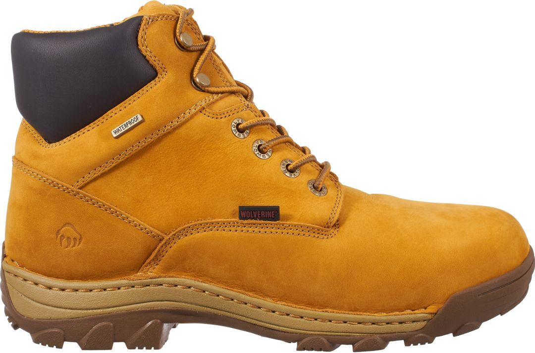 329dc0e0f89 Wolverine Men's Dublin 6'' Waterproof 200g Work Boots