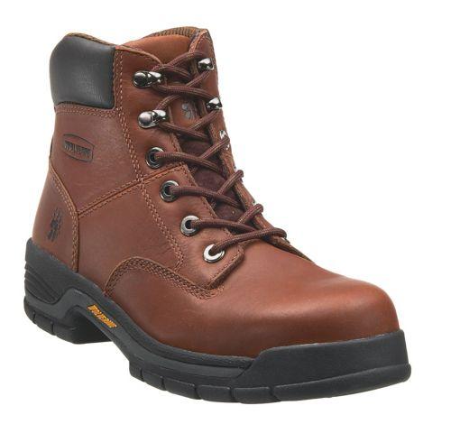 """d00b605037a Wolverine Men s Harrison 6"""" Steel Toe Work Boots"""