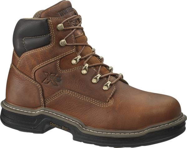 "Wolverine Men's Raider MultiShox Contour Welt 6"" Steel Toe Work Boots product image"