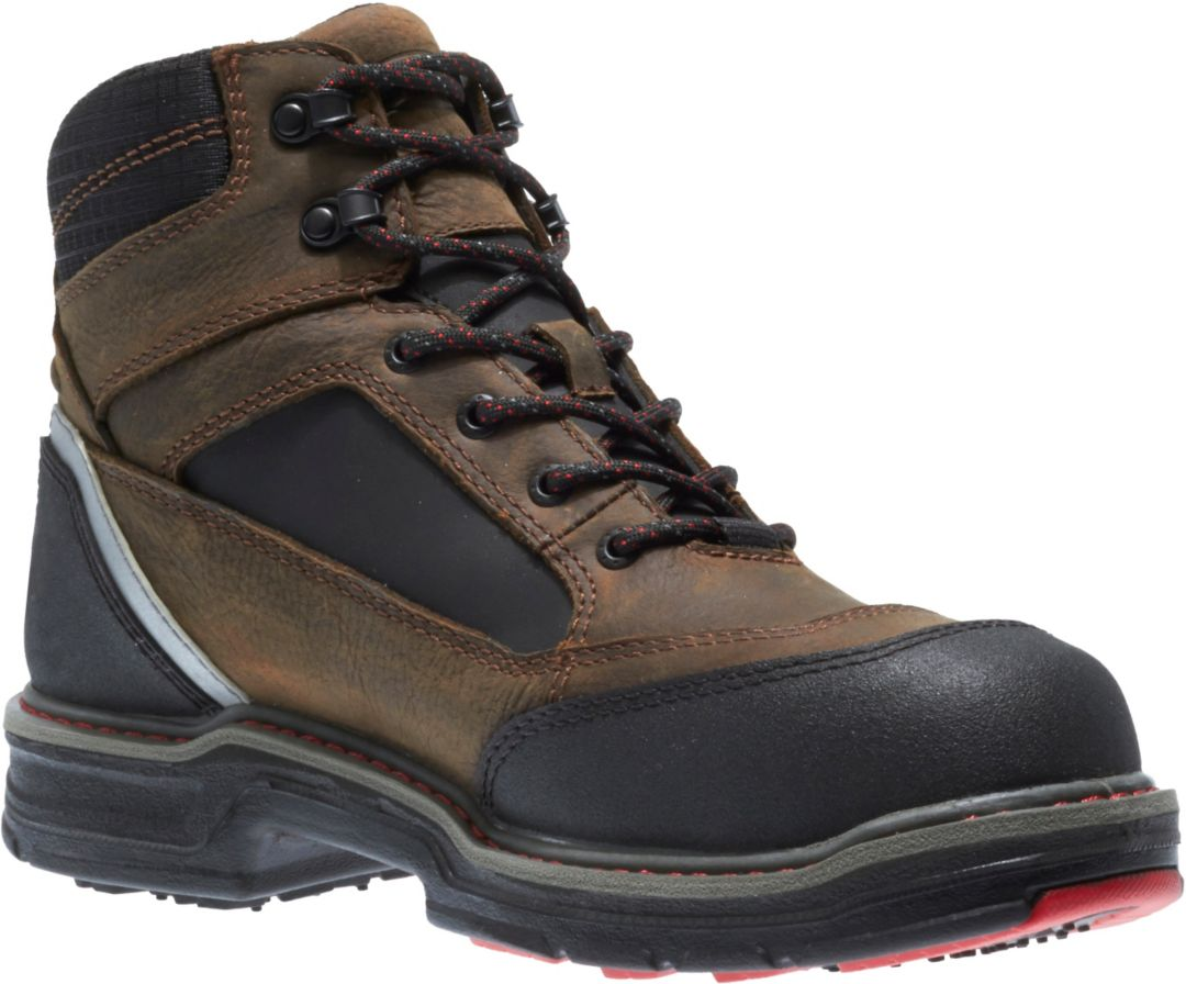 "a9bececbc86 Wolverine Men's Overman 6"" Composite Toe Work Boots"