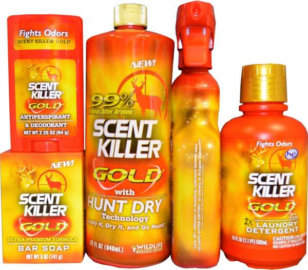 Wildlife Research Center Complete Scent Killer Gold 5 Piece Kit product image