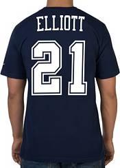 Nike Youth Dallas Cowboys Ezekiel Elliott #21 Pride Navy T-Shirt product image