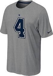Nike Youth Dallas Cowboys Dak Prescott #4 Pride Grey T-Shirt product image