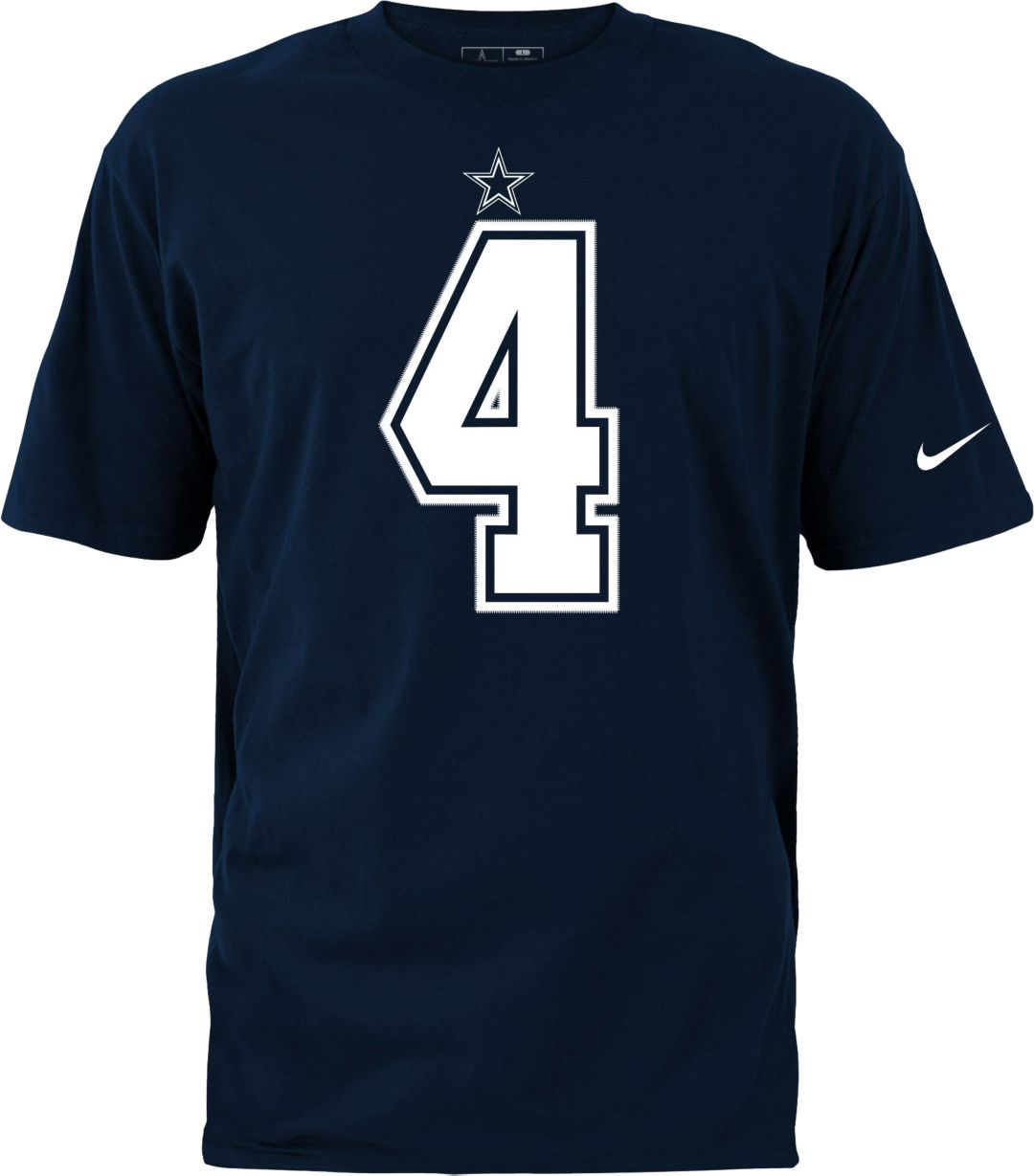 sale retailer e3874 6c135 Nike Youth Dallas Cowboys Dak Prescott #4 Navy Pride T-Shirt