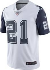 Nike Men's Dallas Cowboys Ezekiel Elliott #21 White Limited Jersey product image