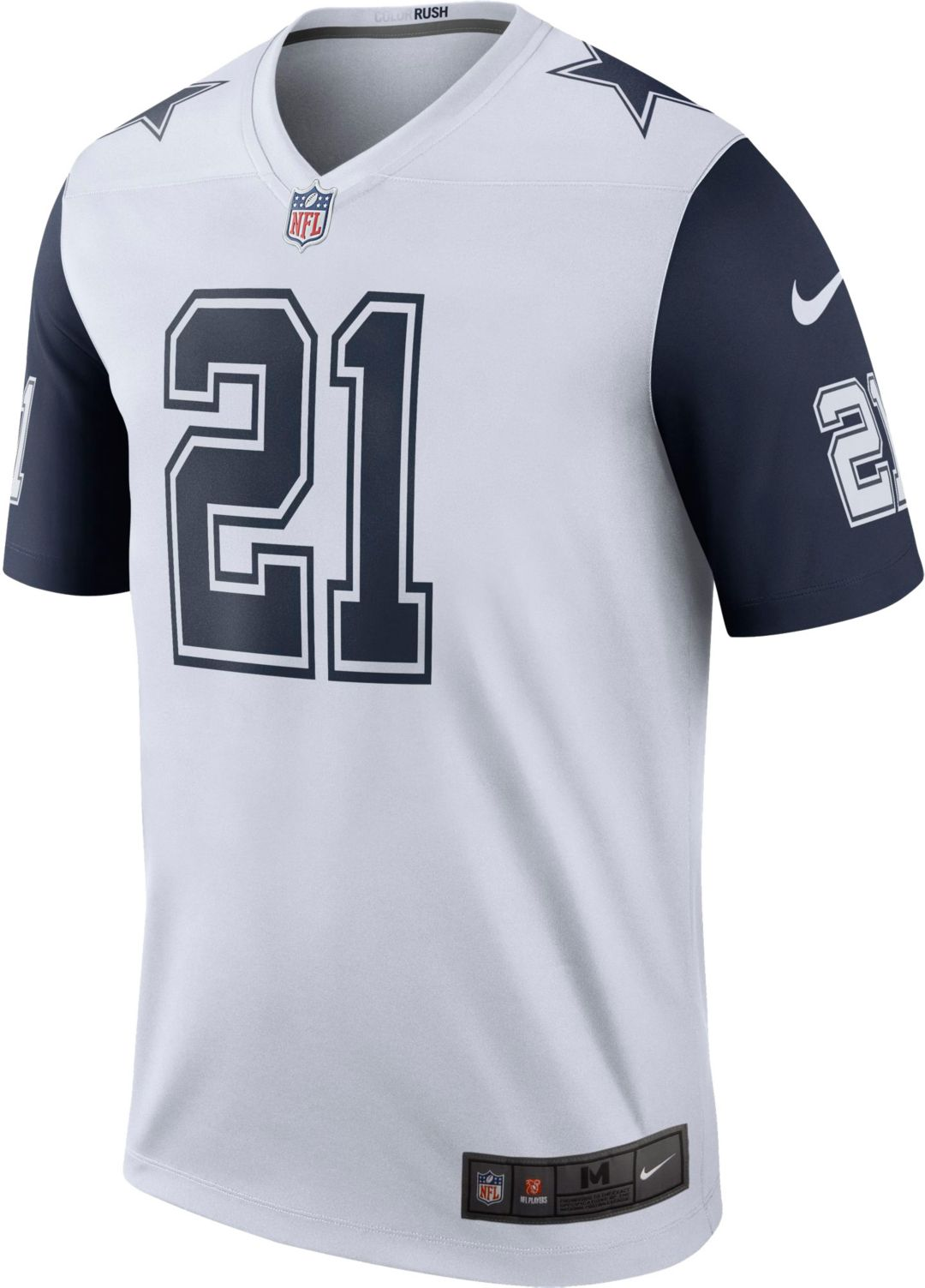 huge discount c1603 b5dc6 Nike Youth Color Rush Game Jersey Dallas Cowboys Ezekiel Elliott #21