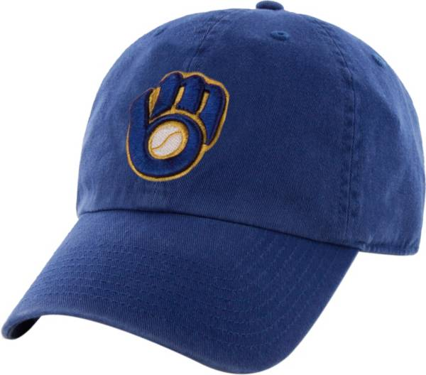 '47 Men's Milwaukee Brewers Clean Up Royal Adjustable Hat product image