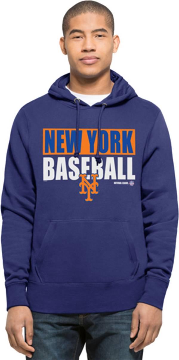 '47 Men's New York Mets Royal Headline Pullover Hoodie product image