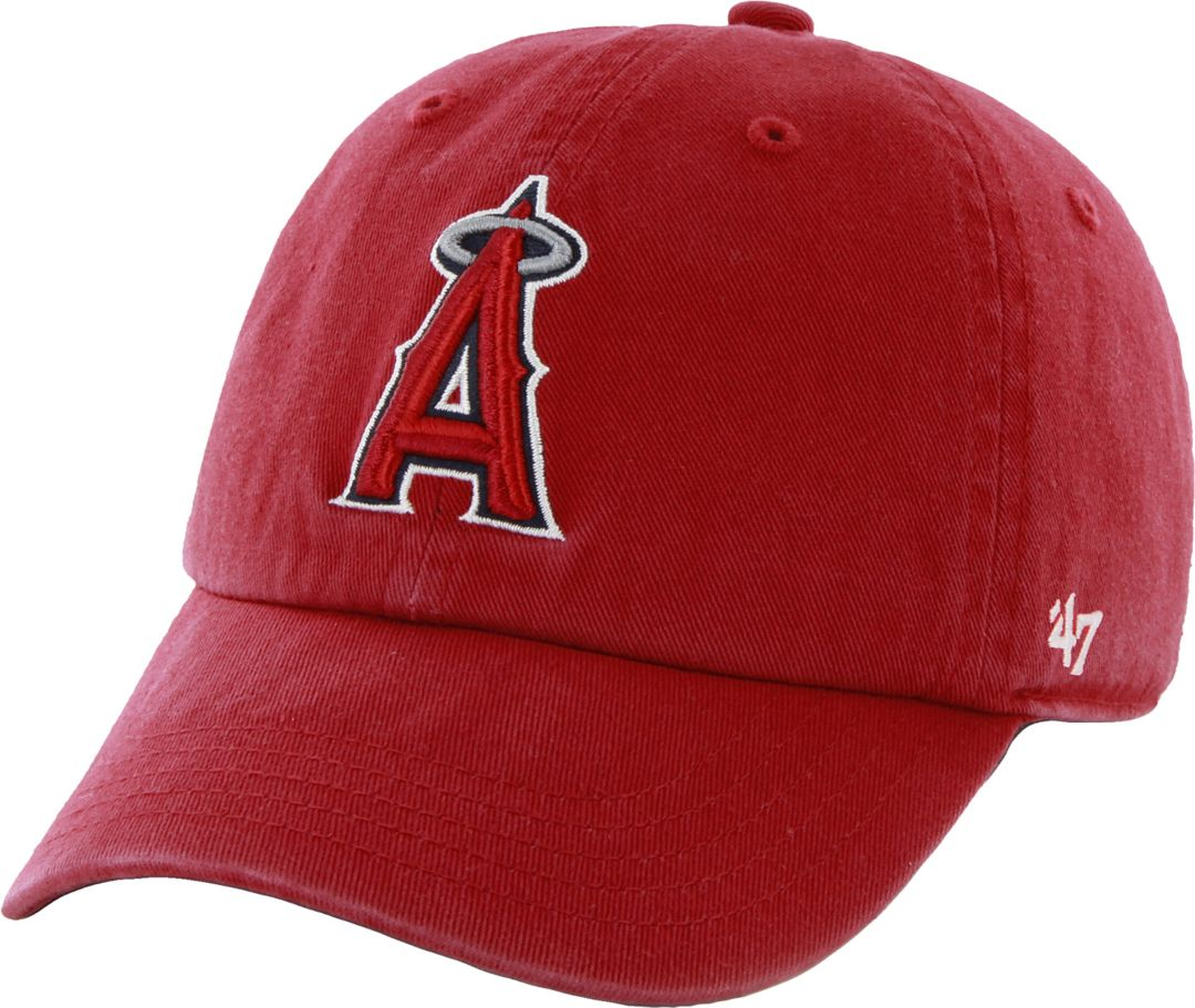 e37afac1d0d921 '47 Men's Los Angeles Angels Red Clean Up Adjustable Hat. noImageFound. 1