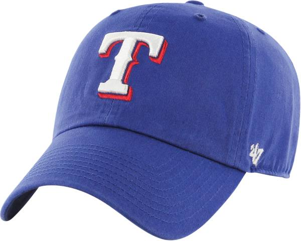 '47 Men's Texas Rangers Royal Clean Up Adjustable Hat product image