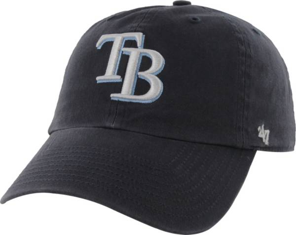 '47 Men's Tampa Bay Rays Clean Up Navy Adjustable Hat product image