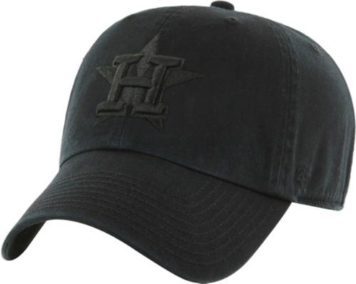 reputable site 0af3a 27e4e ... sale 47 mens houston astros black clean up adjustable hat 4b352 544d2