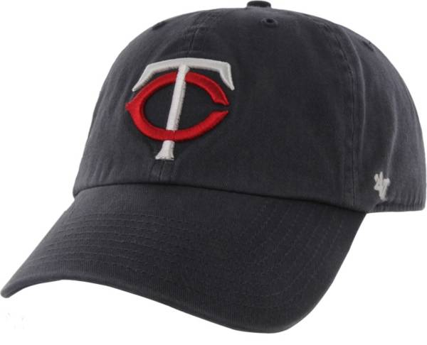 '47 Men's Minnesota Twins Navy Clean Up Adjustable Hat product image