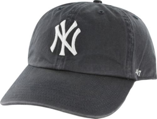 83e7697fe38  47 New York Yankees Navy Clean Up Adjustable Hat. noImageFound. 1