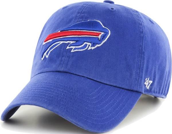 '47 Men's Buffalo Bills Royal Clean Up Adjustable Hat product image