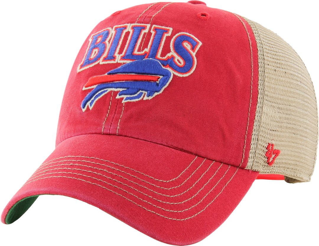 a1a25583 '47 Men's Buffalo Bills Vintage Tuscaloosa Red Adjustable Hat