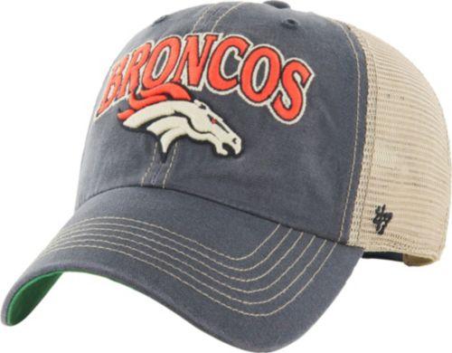 2d0d4210 '47 Men's Denver Broncos Vintage Tuscaloosa Navy Adjustable Hat | DICK'S  Sporting Goods