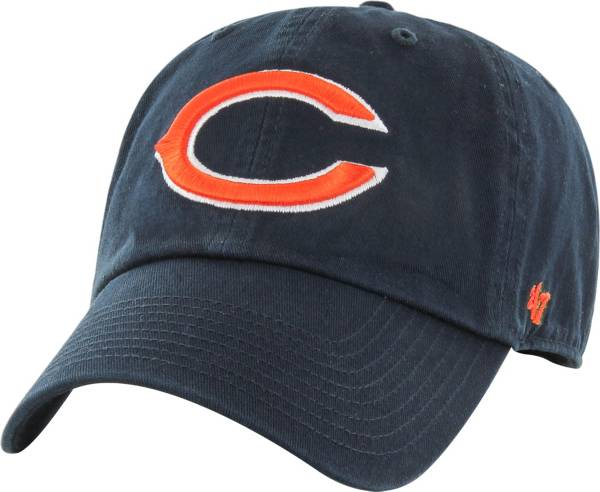 '47 Men's Chicago Bears Clean Up Adjustable Navy Hat product image
