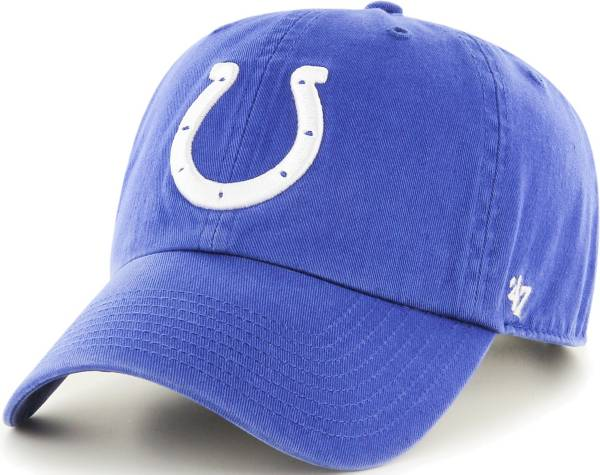 '47 Men's Indianapolis Colts Blue Clean Up Adjustable Hat product image