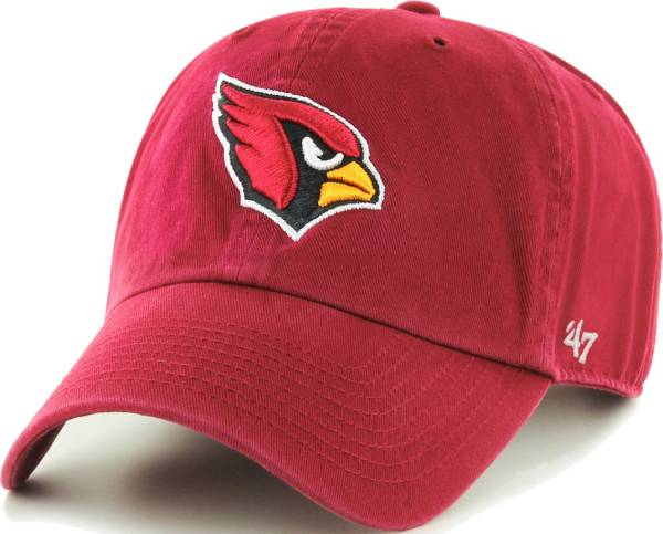 '47 Men's Arizona Cardinals Red Clean Up Adjustable Hat product image
