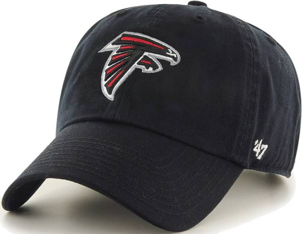 '47 Men's Atlanta Falcons Black Clean Up Adjustable Hat product image