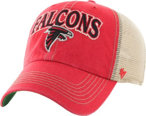 47 Men s Atlanta Falcons Vintage Tuscaloosa Red Adjustable Hat ... e240028fc
