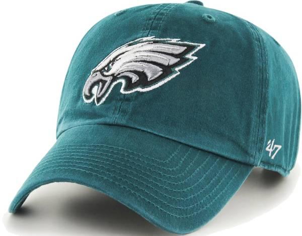 '47 Men's Philadelphia Eagles Green Clean Up Adjustable Hat product image