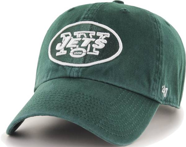 '47 Men's New York Jets Green Clean Up Adjustable Hat product image