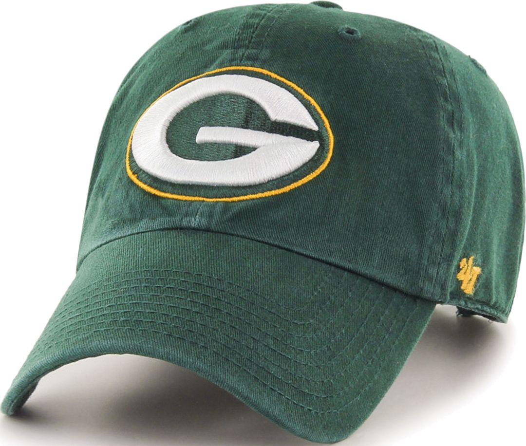 95873857 '47 Men's Green Bay Packers Green Clean Up Adjustable Hat