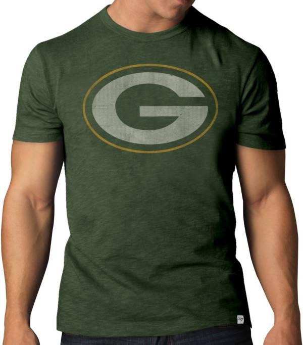 '47 Men's Green Bay Packers Scrum Logo T-Shirt product image