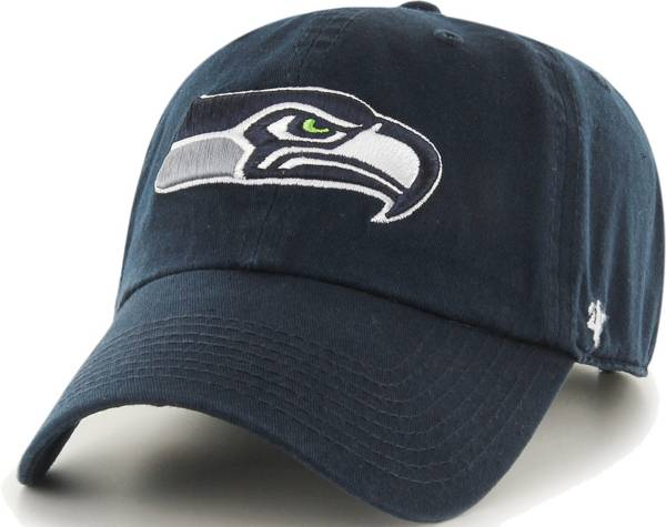 '47 Men's Seattle Seahawks Navy Clean Up Adjustable Hat product image