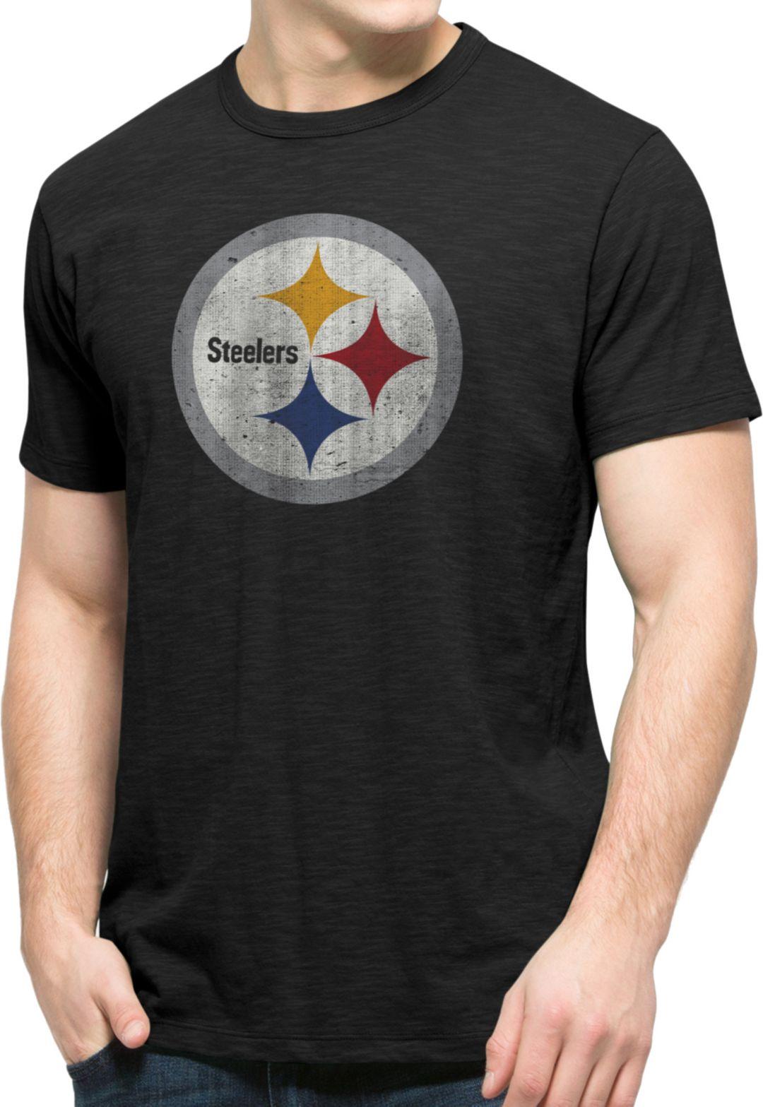 adbcab8e '47 Men's Pittsburgh Steelers Scrum Logo T-Shirt