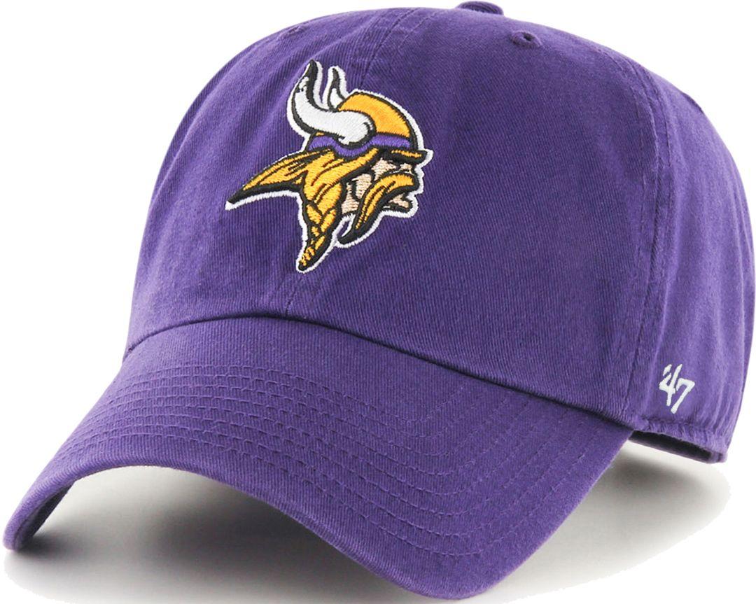 137dbb73a 47 Men's Minnesota Vikings Purple Clean Up Adjustable Hat   DICK'S ...