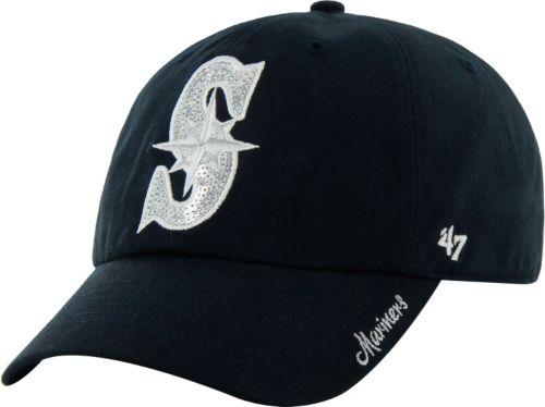 47 Women s Seattle Mariners Sparkle Navy Adjustable Hat. noImageFound.  Previous dd933c4336