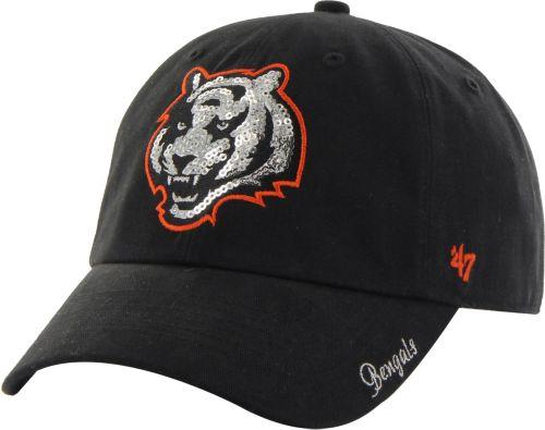 ... Cincinnati Bengals Sparkle Adjustable Black Hat. noImageFound. 1 f0776f7503ae