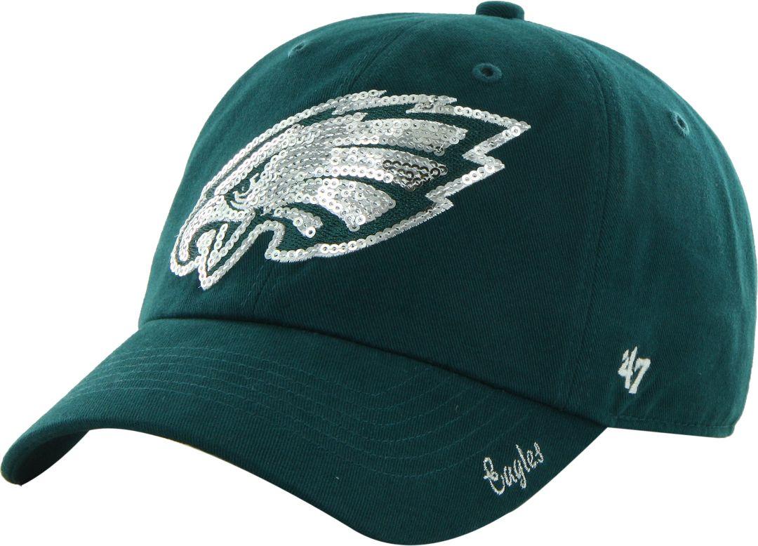 buy popular d3267 28f98  47 Women s Philadelphia Eagles Sparkle Adjustable Green Hat. noImageFound.  1